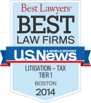 MBBP Best Law Firm: Litigation-Tax