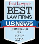 MBBP Best Law Firm: Litigation-Tax