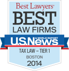 MBBP Best Law Firms: Tax Law